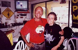 Larry with Doctor Sylvia Earle