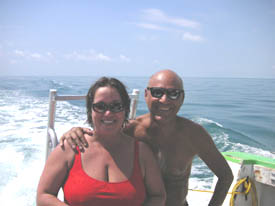 scuba diving and instruction on dive boats are super for fun times in the Florida Keys