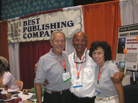 with photo journalists Lynn Layman and Linda Lee Walden of Dive Training Magazine