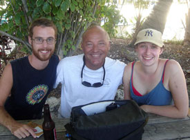 more brits come to Key Largo to finish their scuba course and congrats