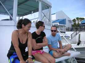scuba instruction classrooms are different in Key Largo and the Florida Keys